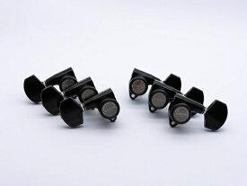 【ESP Parts】SG301-01 L3+R3 SET MG-TB Black[パーツ/ペグ/MAGNUM LOCK/マグナムロック/両連用/ブラック]