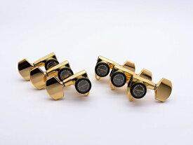 【ESP Parts】SG301-01 L3+R3 SET MG-TB Gold[パーツ/ペグ/MAGNUM LOCK/マグナムロック/両連用/ゴールド]