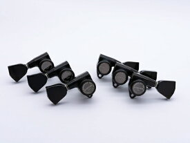 【ESP Parts】SG301-04 L3+R3 SET MG-TB Black[パーツ/ペグ/MAGNUM LOCK/マグナムロック/両連用/ブラック]