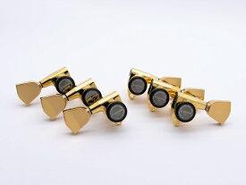 【ESP Parts】SG301-04 L3+R3 SET MG-TB Gold[パーツ/ペグ/MAGNUM LOCK/マグナムロック/両連用/ゴールド]