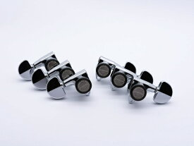 【ESP Parts】SG301-20 L3+R3 SET MG-TB Chrome[パーツ/ペグ/MAGNUM LOCK/マグナムロック/両連用/クローム]
