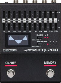 【即納可能】BOSS EQ-200 Graphic Equalizer