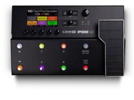 【即納可能】LINE6 POD Go[ギター・プロセッサー/ライン6/マルチエフェクター/アンプシミュレーター]