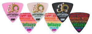 "【初回6月下旬以降入荷予定】L'Arc〜en〜Cieltetsuya30thL'AnniversaryStartingLive""L'APPYBIRTHDAY!""tetsuyaPick5枚セット"