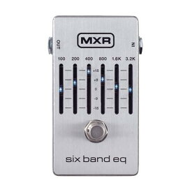 MXR M109S Six Band Graphic EQ