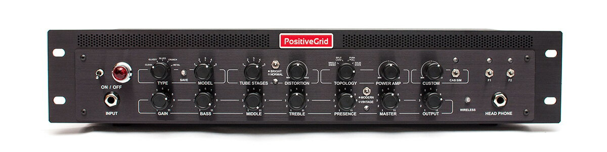 Positive Grid / BIAS Rack Processor