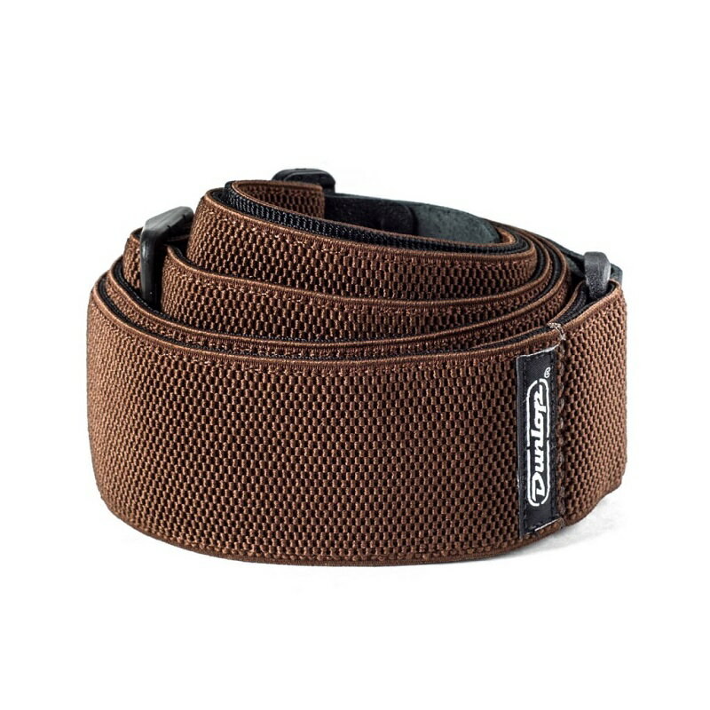 Dunlop Poly Straps / Mesh Chocolate [D69-01BR]