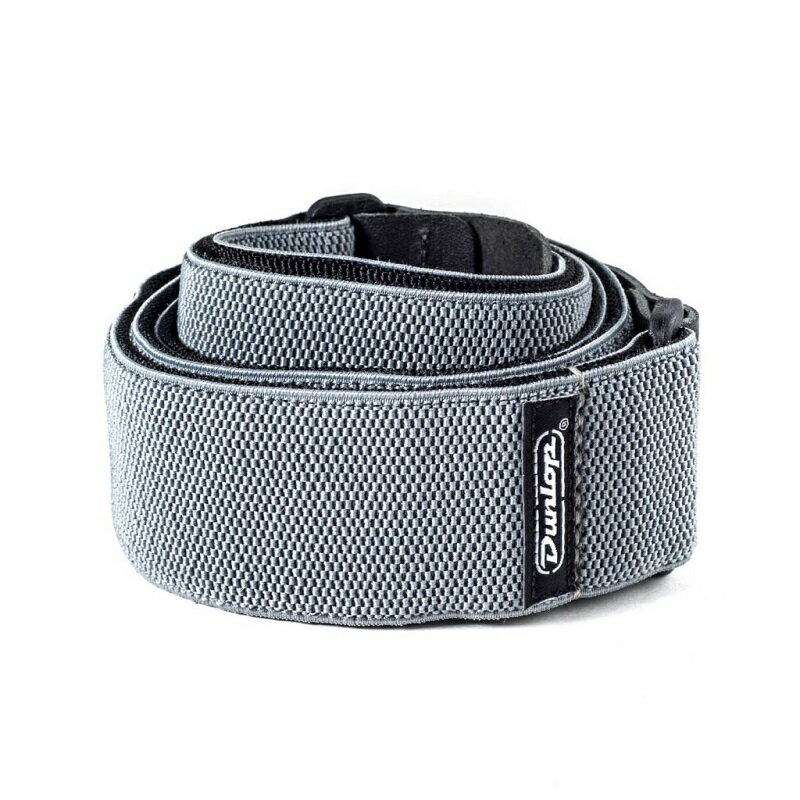 Dunlop Poly Straps / Mesh Steel Gray [D69-01GY]