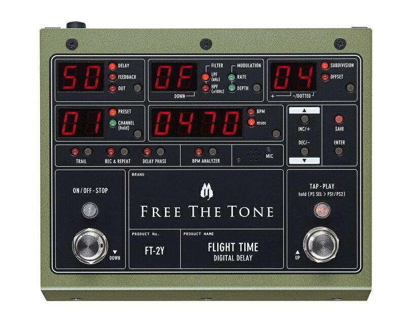 【即納可能】FREE THE TONE / FLIGHT TIME FT-2Y