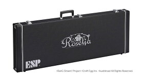 【受注生産商品】ESP×バンドリ! ガールズバンドパーティ! コラボレーション Roselia ハードケース HC-400 ROSELIA-G ESP M-IIシェイプギター用