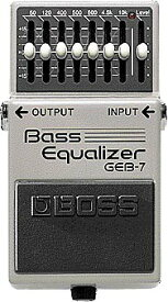 BOSS Bass Equarizer GEB-7 【エフェクター】