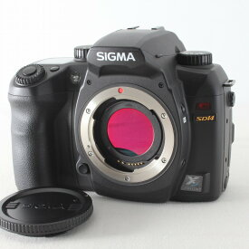 【中古】SIGMA シグマ SD14 ボディ ブラック ストラップ付 デジタル一眼レフカメラ◇33624