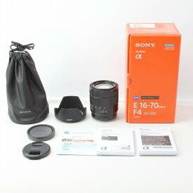 【中古】ソニー Sony Vario-Tessar T* E 16-70mm F4 ZA OSS SEL1670Z 付属品完備 元箱◇33807