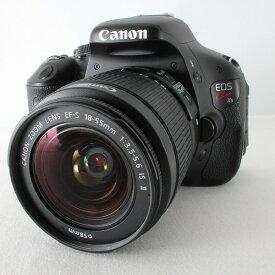 【中古】キヤノン Canon EOS Kiss X5 EF-S18-55 IS II レンズキット 僅か5339ショット ストラップ 取説◇26639