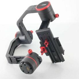 【中古】フェイユーテック Feiyu Tech a2000 ダブルハンドル付き 3軸カメラスタビライザー 付属品満載 元箱◇22708