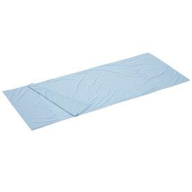 ロゴス LOGOS キャンプ 寝袋 シルキー インナー シュラフ ブルー 72600320