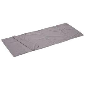 ロゴス LOGOS キャンプ 寝袋 シルキー インナー シュラフ チャコール 72600323