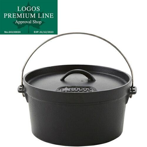 ロゴス LOGOS キャンプ SL ダッチオーブン 10inch ディープ バッグ付 81062229 鍋 料理 調理 バーベキュー コンロ グリル