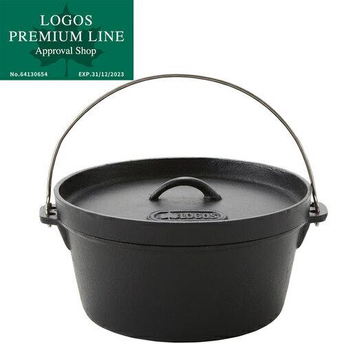 ロゴス LOGOS SL ダッチオーブン 12inch ディープ バッグ付 81062232 鍋 料理 調理 キャンプ コンロ グリル