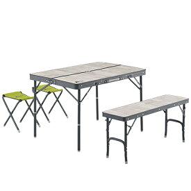 ロゴス LOGOS アウトドア ROSY ファミリーベンチテーブルセット 73189057