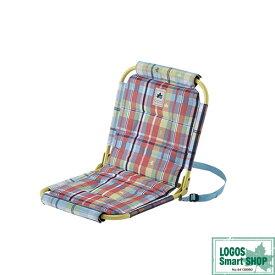ロゴス LOGOS キャンプ チェッカー パッドイングランドチェア 73175059