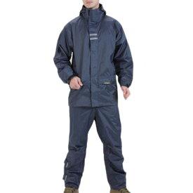 ロゴス LOGOS メンズ リプナー バックパック レインスーツ ネイビー Lサイズ 23716282