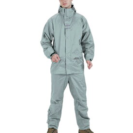 ロゴス LOGOS メンズ リプナー バックパック レインスーツ シルバー Lサイズ 23716762