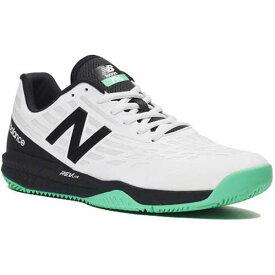 0db59e480f0d16 ニューバランス New Balance メンズ テニスシューズ オールコート ホワイト/ブラック マルチコートH796 K1 2E