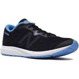 ニューバランス New Balance レディース ランニングシューズ ストロボ W STROBE ブラック/ブルー WSTROBT3 D
