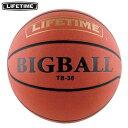 19日9:59迄限定エントリーでポイント5倍★【送料無料】LIFETIME(ライフタイム) ビッグボール TB-36 【バスケットボール シュート練習】