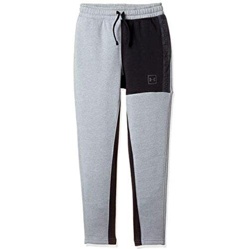 アンダーアーマー UNDER ARMOUR キッズ バスケットボール ロングパンツ UAベースラインファッションボトム UA Baseline Fashion Bottom スチール 1317971 035 ジュニア 男の子