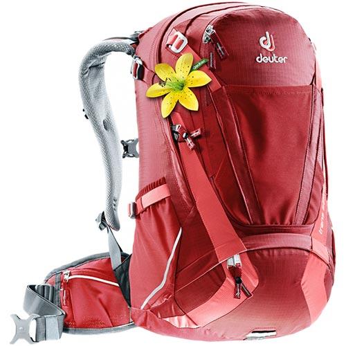 【送料無料】ドイター(deuter) トランスアルパイン 28 SLクランベリー×コーラル D3205117-5553 【アウトドア 自転車 サイクルバッグ 鞄 通勤通学】