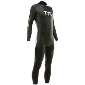 ティア TYR メンズ ハリケーン カテゴリー1 ウエットスーツ ブラック/ホワイト HCCNM6A 088