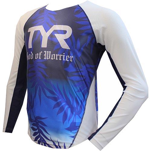 ティア TYR ユニセックス トライアスロンウェア トライシングレット ロングスリーブ ブルー TLONG-17S メンズ レディース