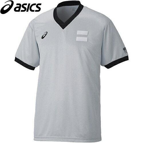 アシックス asics レフリーシャツ 12/シルバーグレー XB8003
