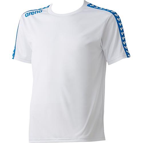 アリーナ arena チームラインTシャツ ARN-6331 WHT/ホワイト