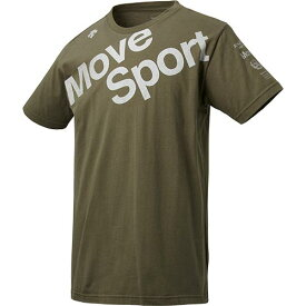 デサント DESCENTE メンズ デオダッシュコットン Tシャツ カーキ DMMNJA53 KH