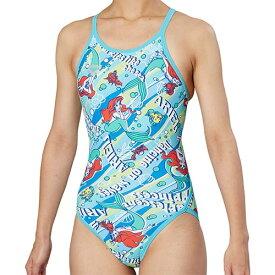 アリーナ arena レディース 競泳水着 リミック ブルー DIS-9355W BLU