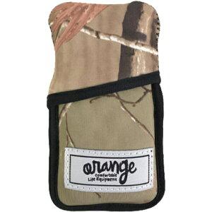 オレンジ oran'ge スノーボード アイコス カバー IQOS cover リアルカモ #060819 4086