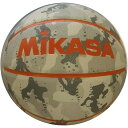 ミカサ MIKASA バスケットボール 5号球 カモ柄ホワイト B530Y-CF-W