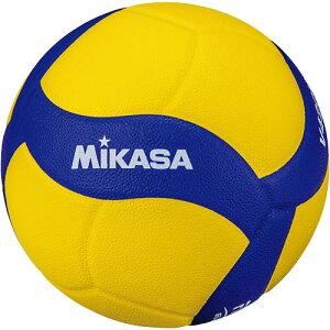 ミカサ MIKASA バレーボール 軽量練習球 4号 黄/青 V420W-L