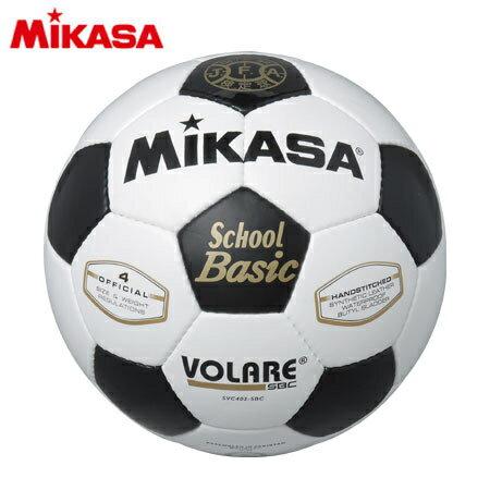 ミカサ MIKASA サッカーボール 検定球 4号 白/黒 SVC402-SBC ジュニア