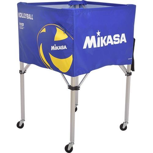 20日10:00-23日9:59迄エントリーでポイント+4倍 ミカサ MIKASA ボールカゴ バレーボール フレーム・幕体・キャリーケース3点セット BC-SP-H VB