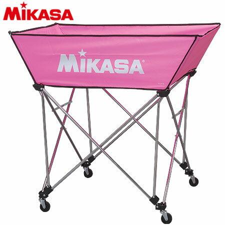 20日10:00-23日9:59迄エントリーでポイント+4倍 MIKASA ミカサ ボールカゴ 皿型 Mサイズ フレーム・幕体・キャリーケース3点セット BC-SP-WM P