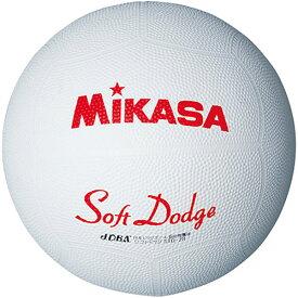 ミカサ MIKASA ソフトドッジボール1号 STD-1R W