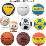 MIKASAミカサボールネーム代チーム名PBAL
