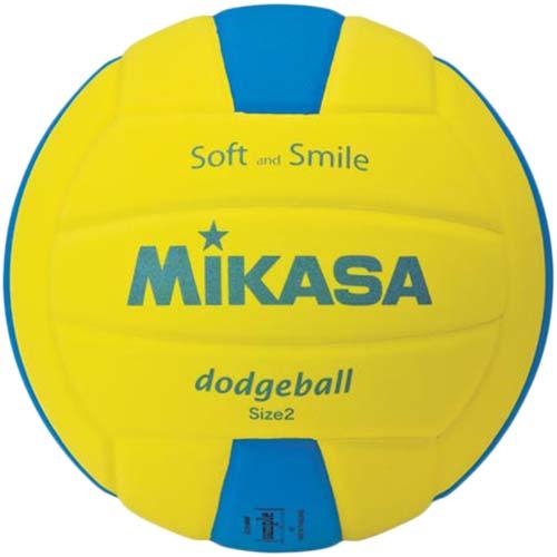 18日10:00-21日9:59迄エントリーでポイント5倍 ミカサ MIKASA キッズドッジボール2号 SDB2-YBL