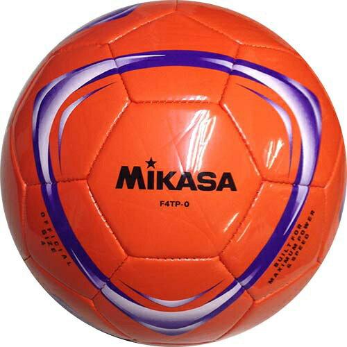 18日10:00-21日9:59迄エントリーでポイント5倍 ミカサ MIKASA サッカーボール F4TP-O オレンジ 4号球