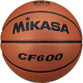 ★セール 21%OFF★ミカサ MIKASA バスケットボール検定球6号人工皮革 CF600 茶