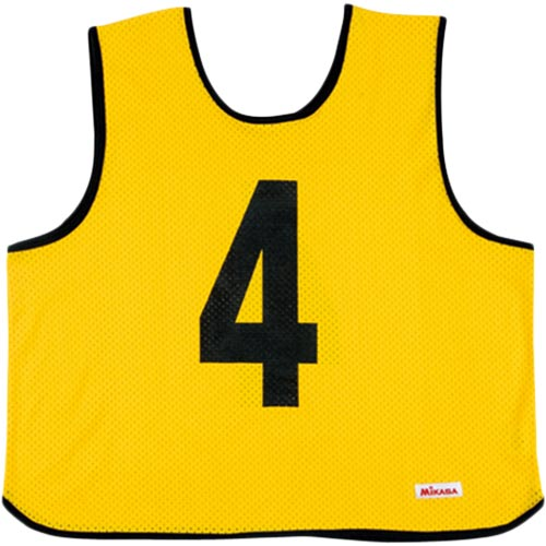 18日10:00-21日9:59迄エントリーでポイント5倍 ミカサ MIKASA ゲームジャケット 10枚組 イエロー GJR210-Y
